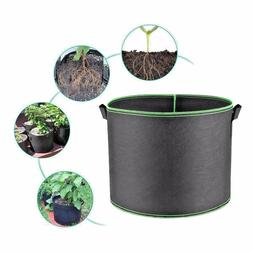 Hongville 1-Pack Plant Grow Bag Fabric Pot w/ Handle 1-400 G