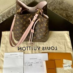 100% AUTHENTIC Louis Vuitton NÉONOÉ Bucket Bag Tote - Mono