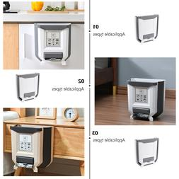 1PC Kitchen Garbage Can Wall Hanging Storage Bucket for Home