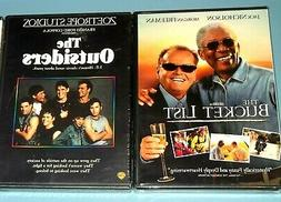 **2 Great Movies The Bucket List & The Outsiders NEW & Seale