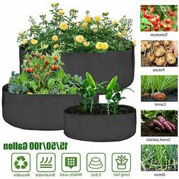 3 Size Plant Root Pots Pouch Grow Bag Container Container Ga