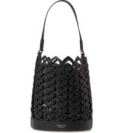 $358 NWT Kate Spade Dorie Small Leather Bucket Satchel Bag