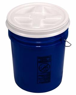 5 Gallon Blue Bucket with Gamma Seal Lid