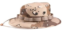 6 Color Desert Camo Military Booniehat Wide Brim Bucket Boon