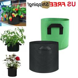 6 Pack Grow Bags Garden Non-Woven Aeration Plant Fabric Pot
