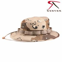 6Color Desert Camouflage Military Tactical Wide Brim Bucket