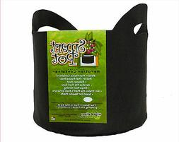 7 Gallon Black Smart Pots w/ Handles - 1 / 5 / 10 Pack Fabri