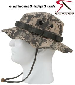 Acu Digital Camouflage Army Military Tactical Wide Brim Buck