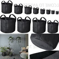 AERATION FABRIC GROW BAGS Bucket Planters Pots with 2 Handle