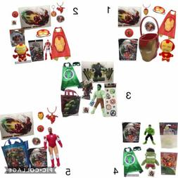 AVENGERS Party Favors Pack Stuffed Characters Games Toys Gif