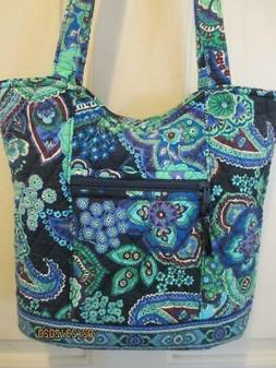 VERA BRADLEY~BLUE RHAPSODY~BUCKET TOTE~NWOT~RETIRED 2010 RAR