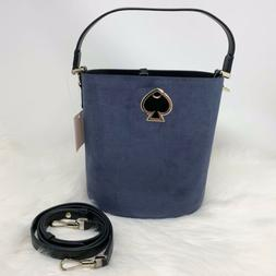 BRAND NEW WOMEN'S KATE SPADE SUZY LEATHER SMALL BUCKET SATCH