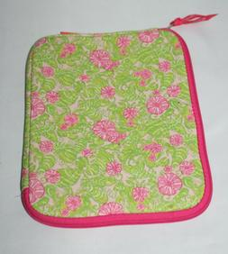 Lilly Pulitzer Chum Bucket Soft iPad Tablet Case Pink Green