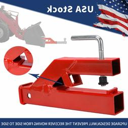 Clamp On Bucket Trailer Hitch Receiver Tractor Ball Mount Ha