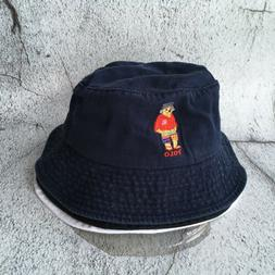 Classic POLO RL Vintage Teddy Bear Hat Boys Sport Bucket Cap