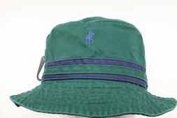 Polo Ralph Lauren Cotton Chino Bucket Hat Golf Sun Beach Gre