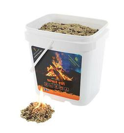InstaFire Eco-Friendly Granulated Bulk Fire Starter, 2-Gallo