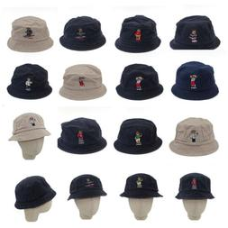 Polo Embroidery Hat Bucket Beach Basketball  USA Hockey Tedd