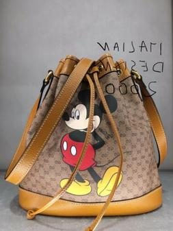 Exclusive Disney x Gucci GG small bucket bag Mickey mouse  w
