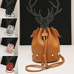 Fashion Girls Single Shoulder Bag Bucket Messenger Clutch Tr