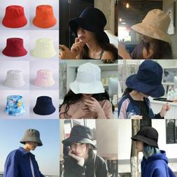Fisherman Caps Two-sided Wearing Sun Hat Travel Bucket Booni