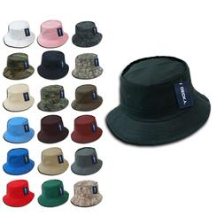 Decky Fisherman's Bucket Hats Caps Constructed Cotton 2 size