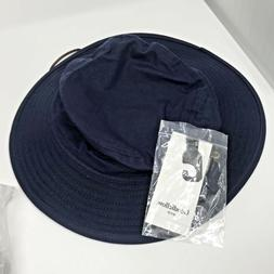 Goodfellow and Company Mens Navy Blue Bucket Hat with Chin S