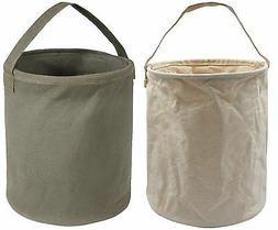 Rothco Heavyweight Canvas Collapsible Water Bucket - Outdoor