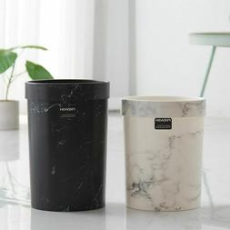 Home Eco-Friendly Round Shapes Trash Cans Marble Pattern Sto