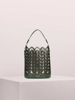 Kate Spade Dorie Small Bucket Bag Italian Leather Spades Dee