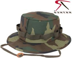 Kid's & Adults Camouflage Hat Military Style Boonie Hat Buck