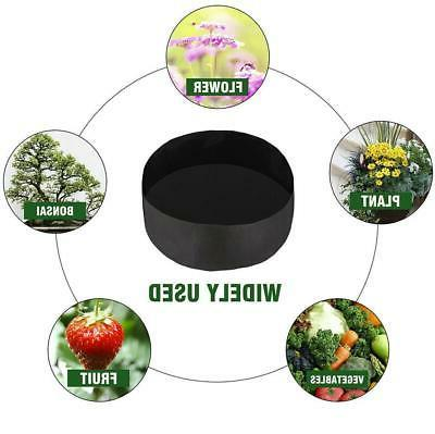 3 Plant Root Pots Grow Bag Container Container Garden Round Fabric US