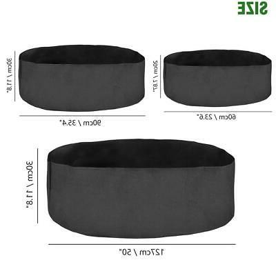 3 Size Plant Pots Pouch Container Container Fabric