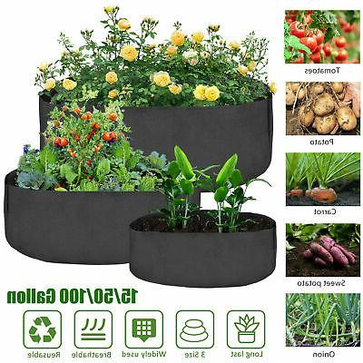 3 size plant root pots pouch grow