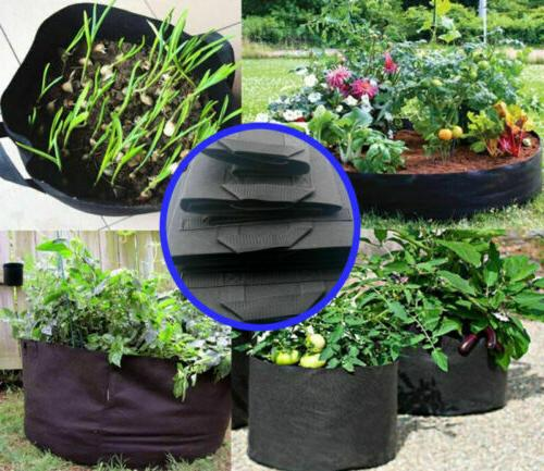 5/10/15 Bag Fabric Breathable Plant Handle