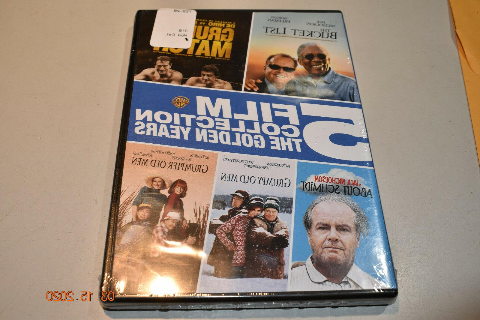 5 film collection the golden years dvd
