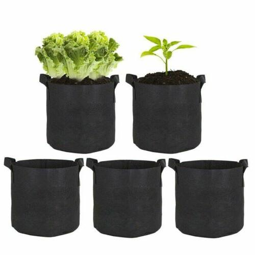 5 Pack Bags Garden Fabric Container