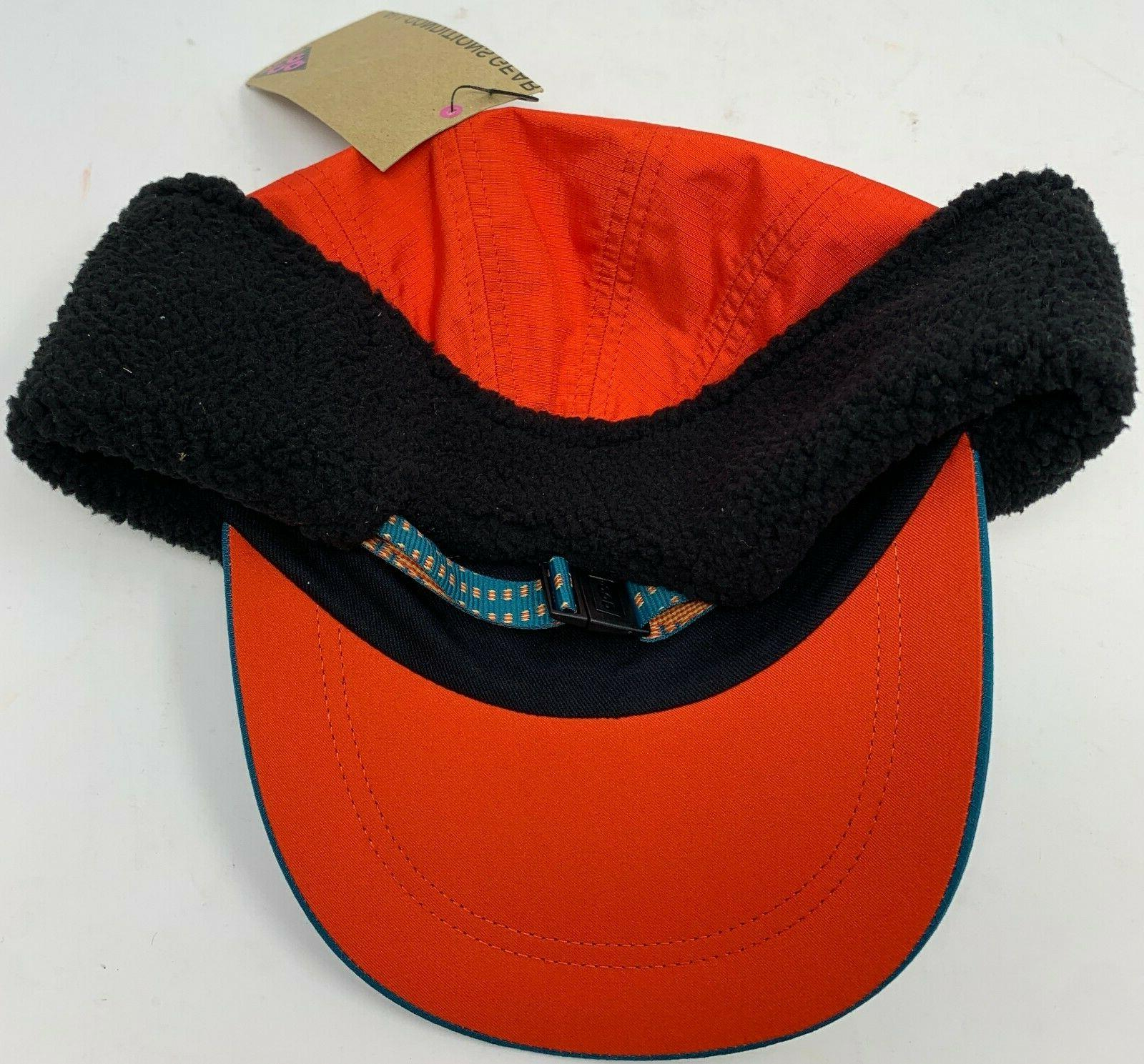 AR0497-381 NWT Nike ACG Tailwind Hat with Ear Flap Red