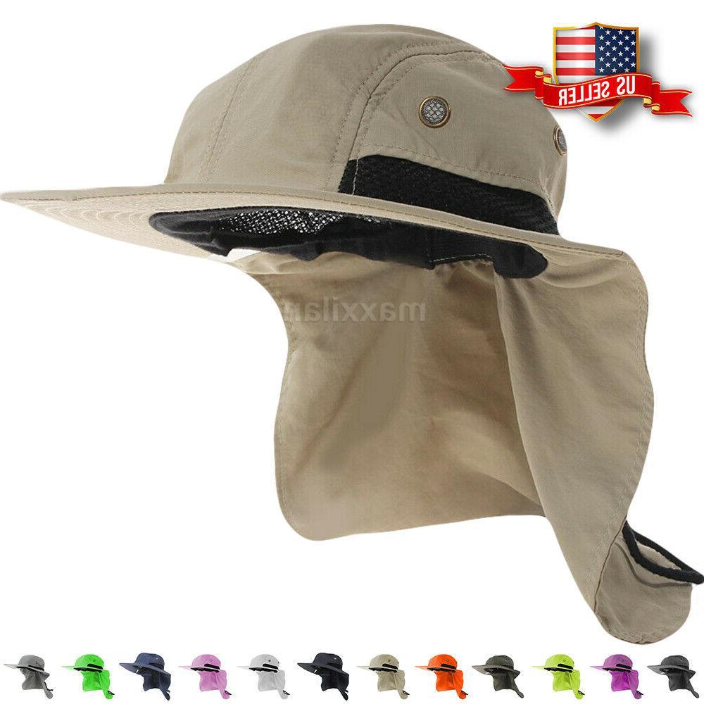 boonie snap hat brim ear neck cover