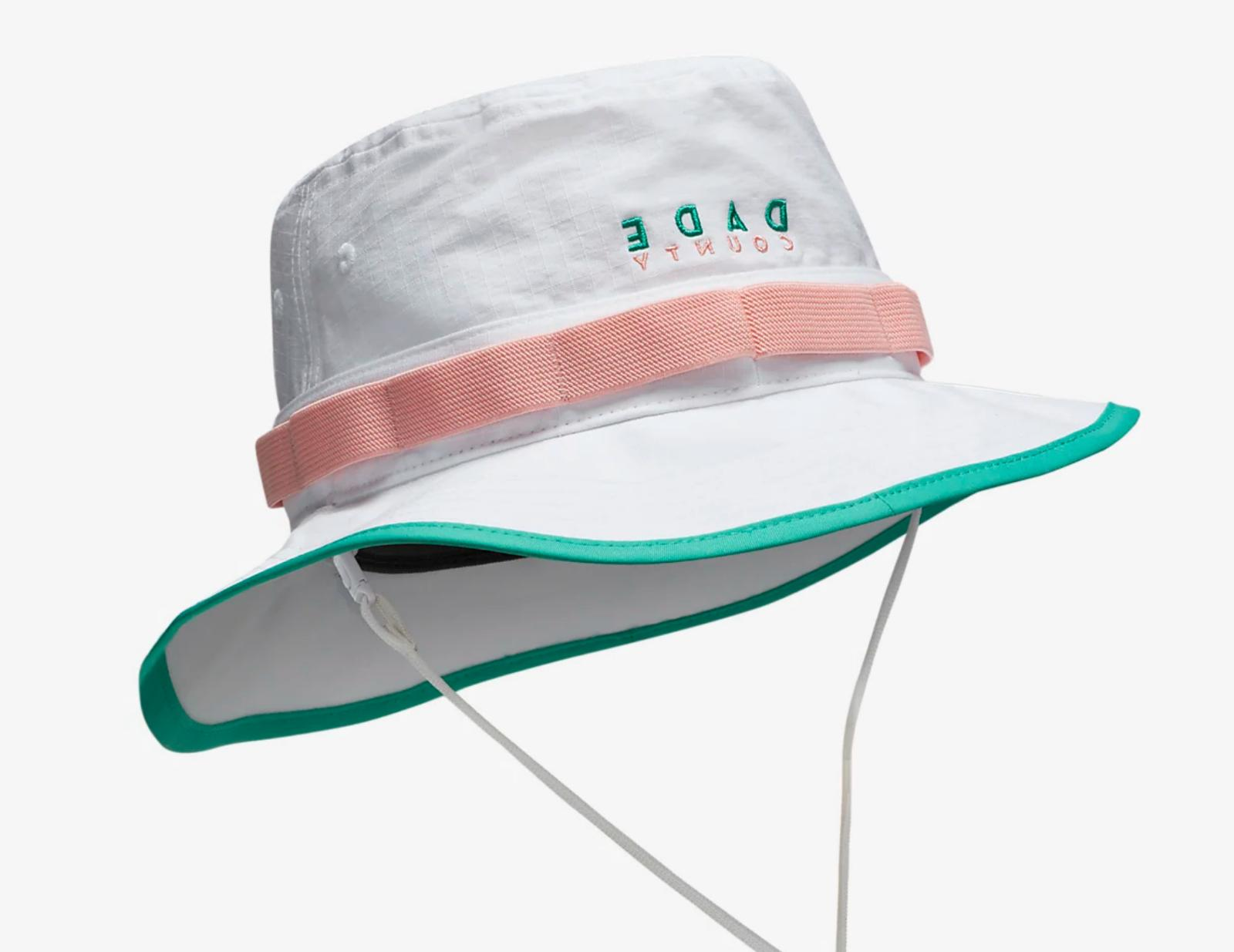 Nike Miami 305 Dade Canes Pink Teal Bucket