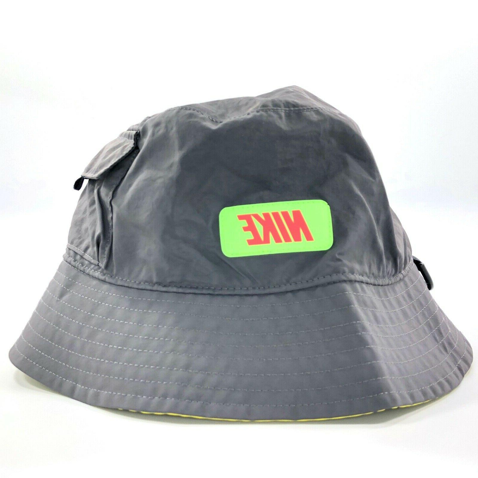 gce bucket hat cap thunder grey lime