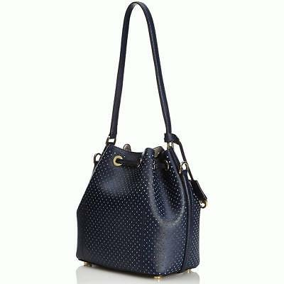 greenwich medium bucket handbag navy 328