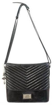 Harley-Davidson Women's Quilted Chevron Bucket Purse, Black