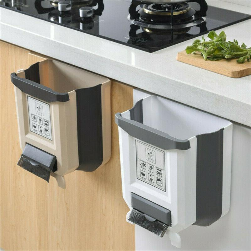 kitchen and dining hanging trash can storage