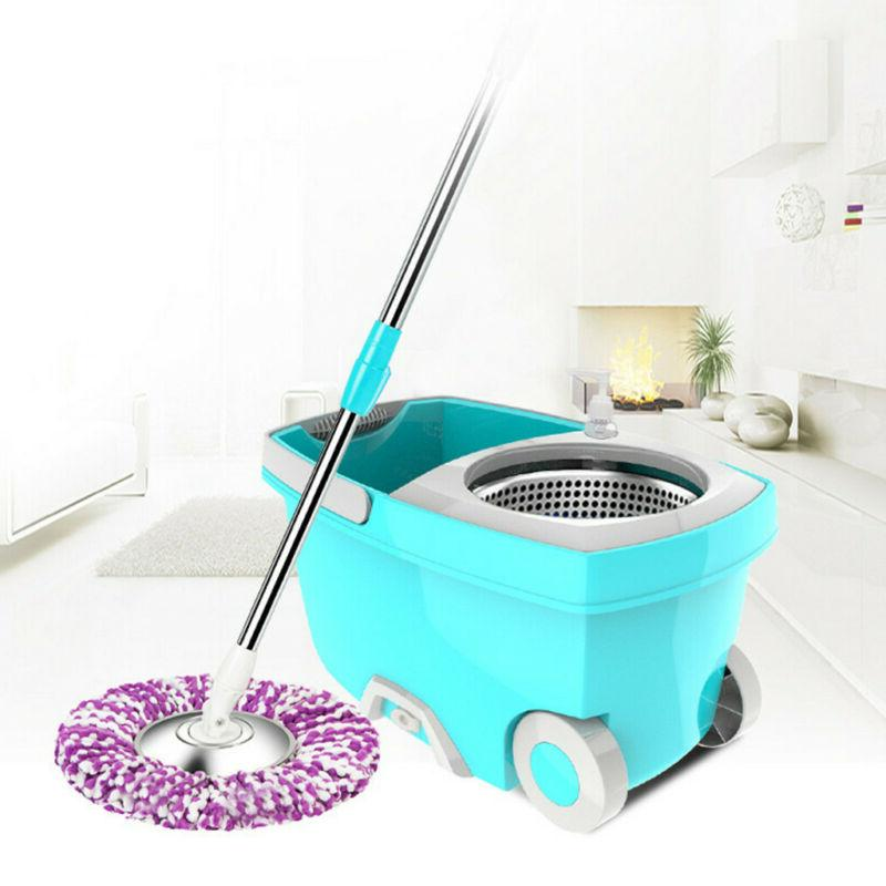 new upgraded stainless steel microfiber 360 rotating