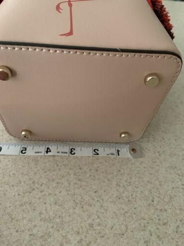 NWT BY THE POOL Pippa Leather BUCKET