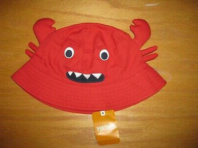 nwt shipmates size 4t 5t red crab