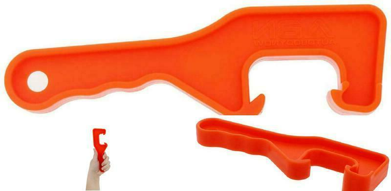 Pail Opener Removal 5 Plastic 8.5-Inch Orange