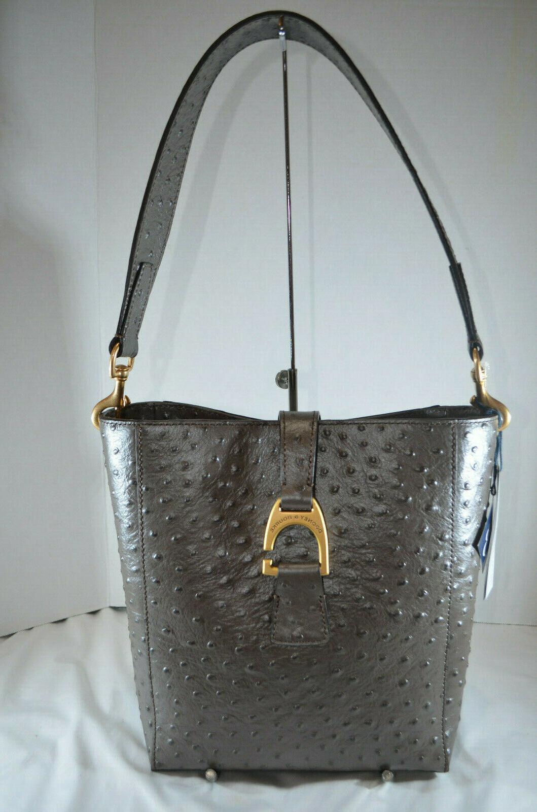 rare nwt 298 dooney and bourke ostrich