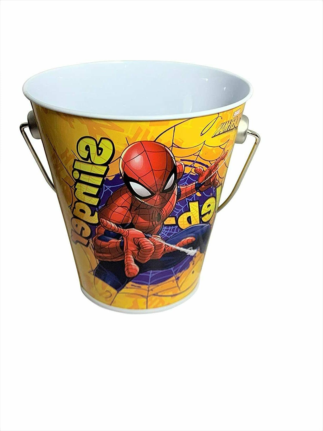 Set Of Buckets Favors Or Center Spider-Man